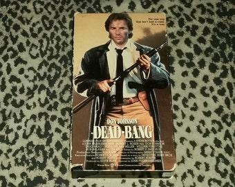 Dead Bang [VHS] Don Johnson 80s Action Sleaze Retro Vintage 80s movie VHS Action Movie Violent Gory VHS Tape Retro 1980s Vintage Kitsch Vhs