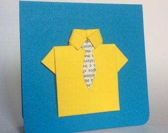 EphemeraCard: Yellow Shirt