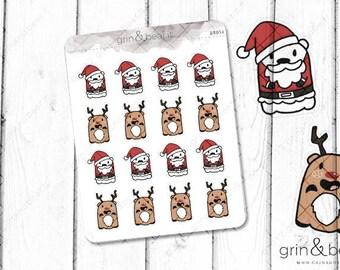 Santa Barry! - Barry the Bear Stickers (BB054)