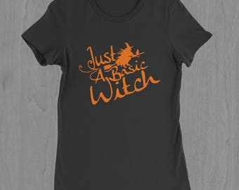 Witch T-shirt - Halloween Shirt - Basic Witch - Funny Halloween T-shirt - Pun T-shirt