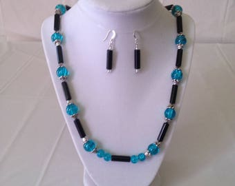 Sharon Necklace Earring Bracelet Set