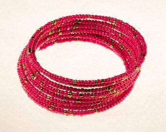 Definitely Pink Twirl Bracelet
