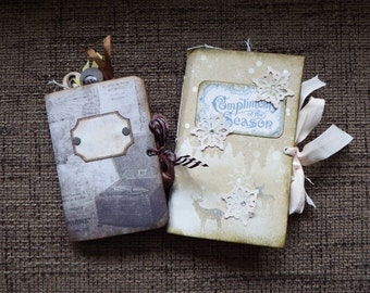2 pack junk journal for christmas and everyday writing