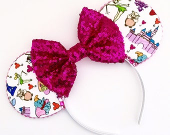 The Kingdom - Handmade Magic Kingdom Inspired Mouse Ears Headband