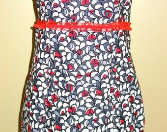 Dress, Women Dress,  African Clothing/ African Print Dress/ African Midi Dress/ Ankara Dress/ Ankara Clothing