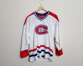 Vintage Montreal Canadiens jersey, Montreal Canadians jersey, 90 s CCM jersey, authentic, NHL jerseys, Habs, the forum, Carey Price