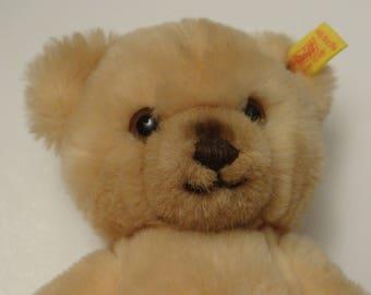 Beautiful Teddy bear stuffed Steiff - western Germany 1973 brand