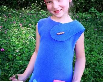 Poppy costume / Trolls costume / Poppy dress / Kids trolls costume / toddler trolls costume/ handmade costume / Halloween costume