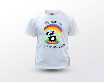 Panda T Shirt, Panda Kids Shirt, Panda Tee, Panda Clothing, Panda Quotes, Kids T Shirt, Art T Shirt, Panda Gift, Animal T Shirt, Animal Tee
