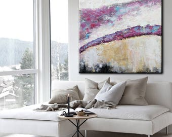 Abstract Painting, Colorful Painting Art, Colorful Collectible Painting, Colorful Large Art, Colorful Art, Oil Painting, Large Decor Art
