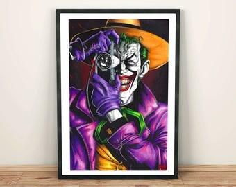 """Joker """"The Killing Joke"""" Artwork (print)"""