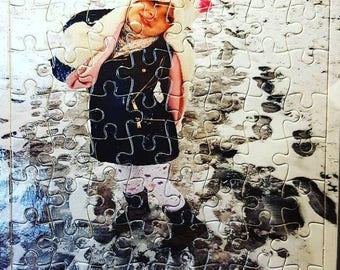 Personalised Custom Made Photo Jigsaw Puzzle Gift