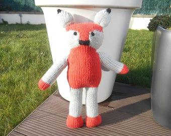 Plush Fox, Fox, Fox, child's teddy bear plush