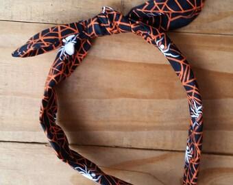 Spiderweb Knotted Headband