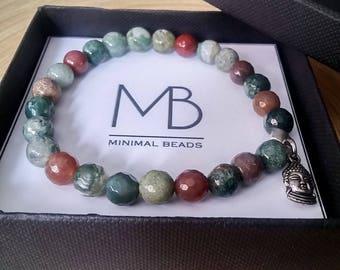 Men's bracelets, yoga bracelets, bad beads, bad bracelets, women's bracelets, Buddha bracelets, buddha beads, spiritual gift, yoga jewels