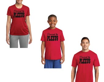 CLEARANCE Powered By Plexus Tee, Powered By Plexus, Plexus, Plexus Swag, Plexus T-Shirt, Plexus Shirt, Plexus