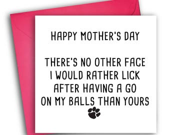 Funny Mother's Day Card | From The Dog