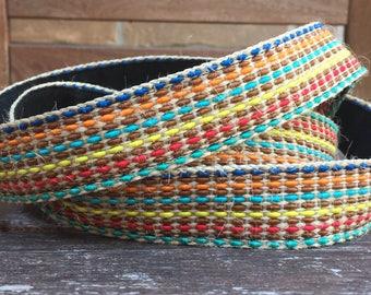 Yoga mat sling carry strap