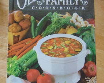 Old Fashioned Family Cookbook , 1978 , Clarice L Moon , OOP