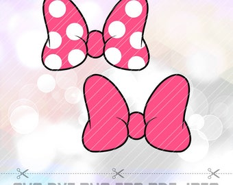 Minnie Mouse Ears Etsy
