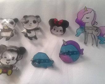 Kawaii Badges/Pins