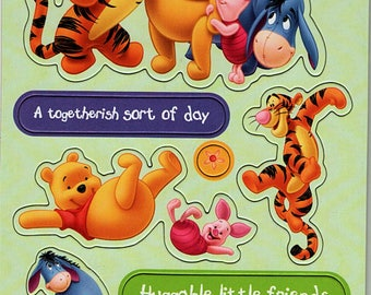 Winnie The Pooh Chipboard 6x12 Sheet Scrapbooking Scrapbooks Ek Success Embellishments Cardmaking Crafts