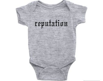 Taylor Swift, Baby Onesie, Reputation Baby Gift, Rock Band Onesie, Gift For a Girl, Cute Onesie, Rock and Roll Baby, Rocker Bodysuit
