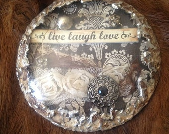 Live, Love, Laugh Wall Hanging/Ornament