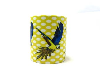 Macaw Parrot Coffee Mug Bird Macaw Mugs Parrot Lover Macaw Gifts