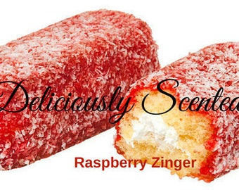 RASPBERRY ZINGER Fragrance Oil 2 or 4 oz for candles, soap, perfume oil, cosmetics, soap making, concentrated, pure, skin safe, supply