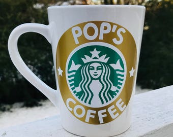 Personalized Starbucks Coffee Mug