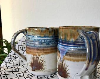Beautiful handmade mugs set of 2