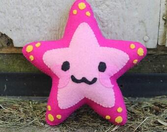 Cute Felt Starfish