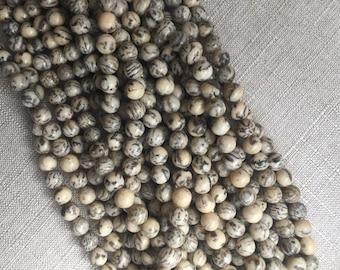10MM Fledspar Graphic Beads