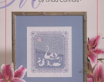 Midnight Serenity Cross Stitch Book by Linda Connors -- Item #2275