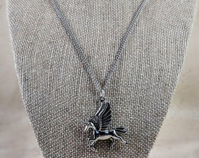 Unicorn necklace, Unicorn Jewelry, Unicorn  Necklace, Silver Unicorn  Charm Necklace, Silver Unicorn jewelry, Unicorn theme jewelry, Gifts,