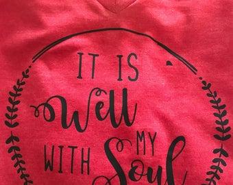 Soul tee shirts/monogram