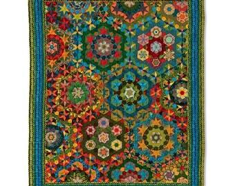 Rondo Vivace Quilt - Millefiori Quilts 3 by Willyne Hammerstein