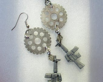 Guns & Gears Earrings