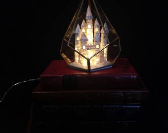 Fairytale Castle Prism Lamp