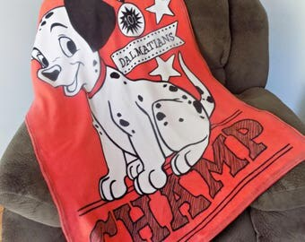 101 Dalmatians Light Blanket -  Lightweight Blanket - Kids blanket - Disney Blanket - Child's Blanket