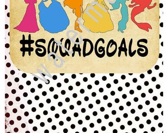 Disney vacation shirts - Little Mermaid svg -silhouette cameo cricut - Ariel svg Jasmine svg iron t shirt transfer JPEG Princess squad goals
