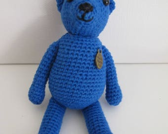 Small Hand Crocheted Teddy