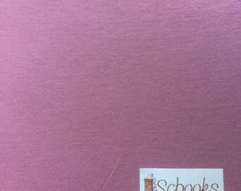 Soft Rose Petal Pink - Cotton Spandex Knit