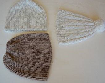 Custom knitted hat, 100% Alpaca, winter Gifts, gifts for men and women