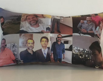 "Panaromic Photo Pillow 15"" by 9"""