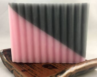 Activated Charcoal and Rose Gold Soap