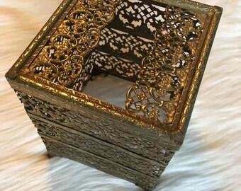Vintage Brass Tissue Box Holder Vintage Brass Tissue Box Holder Vintage Brass Tissue Box Holder Vintage Brass Tissue Box Holder