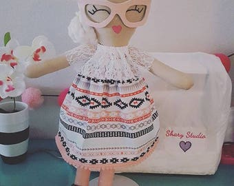 Couture Doll/handmade doll/