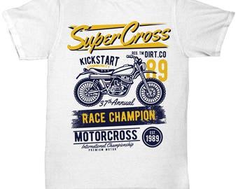 Super Cross KickStart Race Champion T-shirt